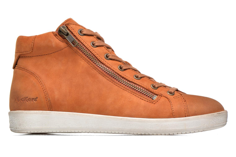 Baskets Kickers Hamo Orange vue derrière