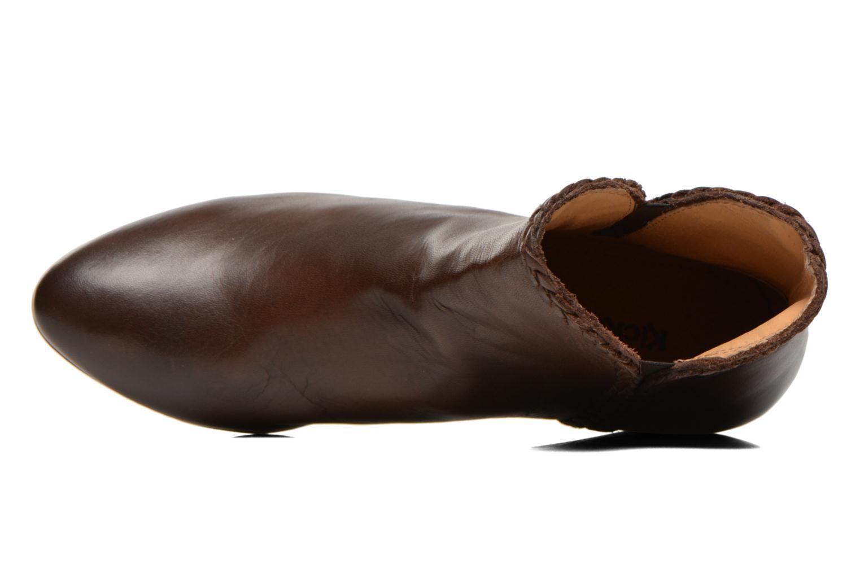 Bottines et boots Kickers Westiti Marron vue gauche