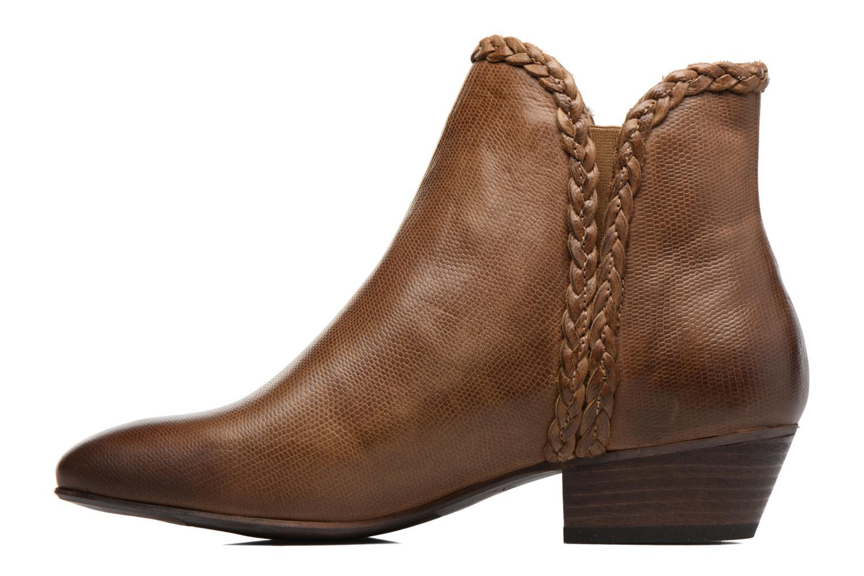 Stiefeletten & Boots Kickers Westiti braun ansicht von vorne