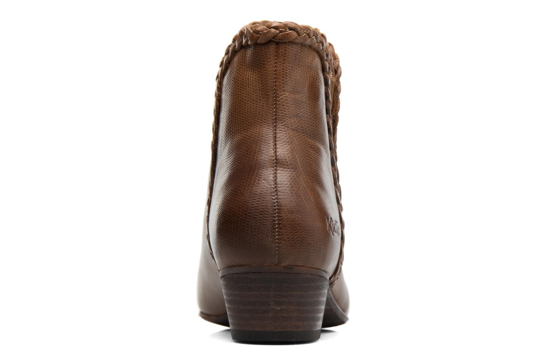 Stiefeletten & Boots Kickers Westiti braun ansicht von rechts