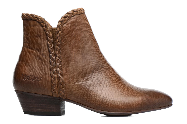 Stiefeletten & Boots Kickers Westiti braun ansicht von hinten