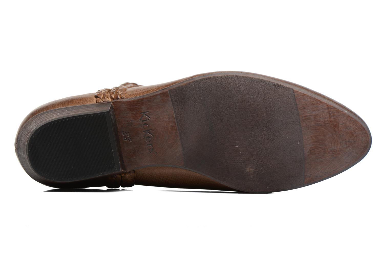 Stiefeletten & Boots Kickers Westiti braun ansicht von oben