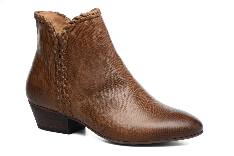 Bottines et boots Kickers Westiti Marron vue détail/paire