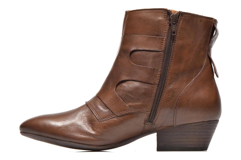 Stiefeletten & Boots Kickers Westside braun ansicht von vorne