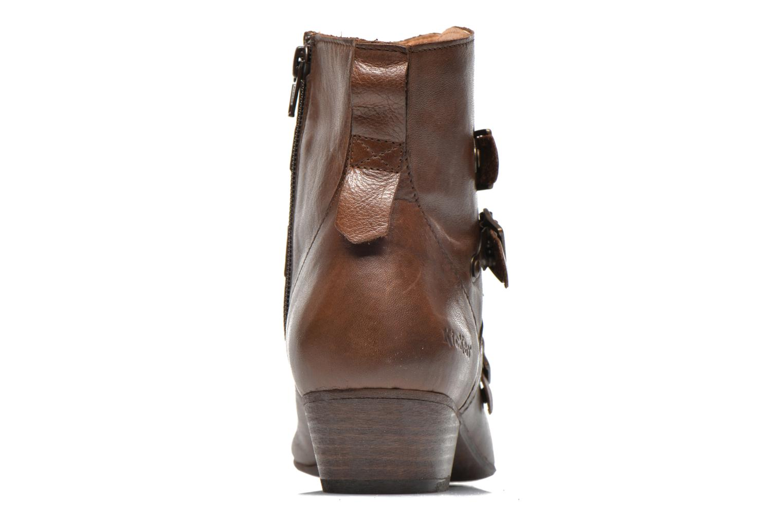 Bottines et boots Kickers Westside Marron vue droite