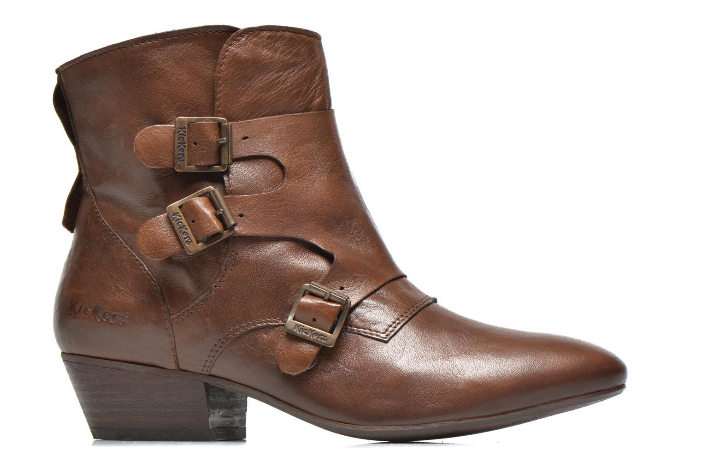 Stiefeletten & Boots Kickers Westside braun ansicht von hinten