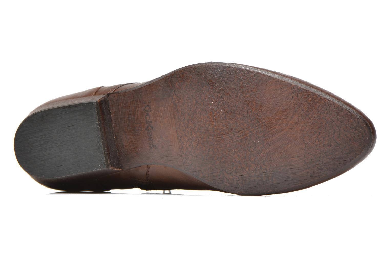 Bottines et boots Kickers Westside Marron vue haut