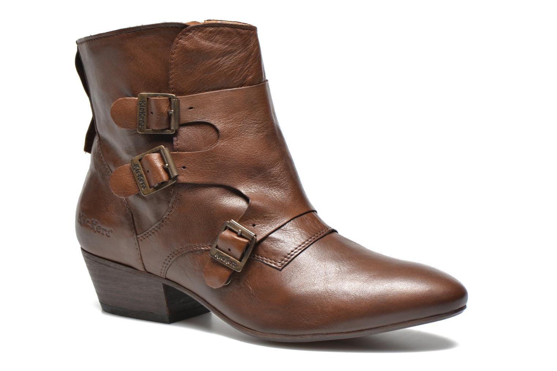 Bottines et boots Kickers Westside Marron vue détail/paire