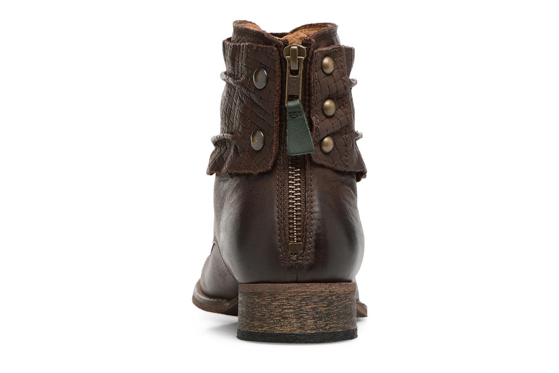 Bottines et boots Kickers Punkyzip Marron vue droite