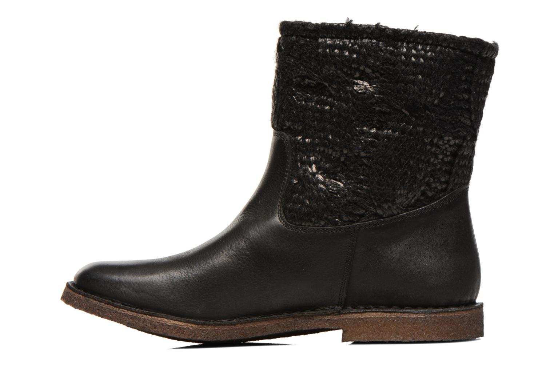 Stiefeletten & Boots Kickers cresson schwarz ansicht von vorne