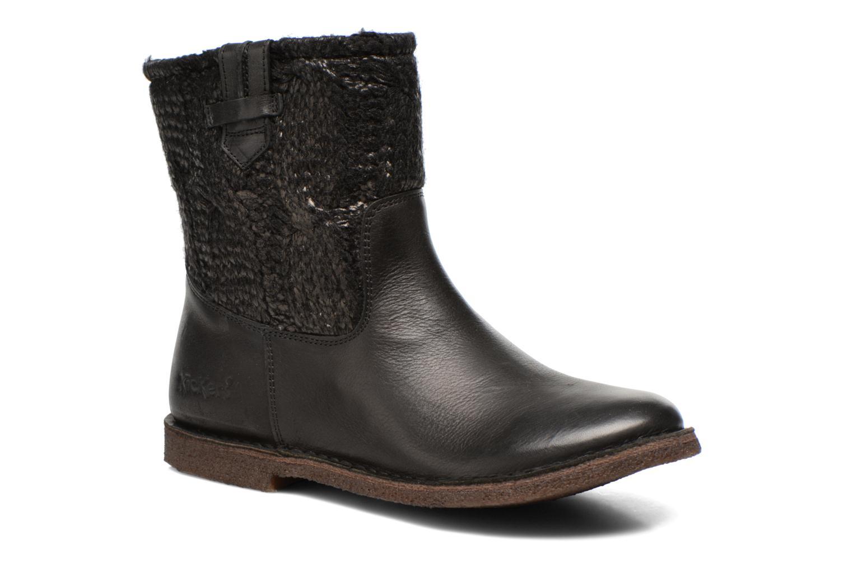 Boots en enkellaarsjes Kickers cresson Zwart detail