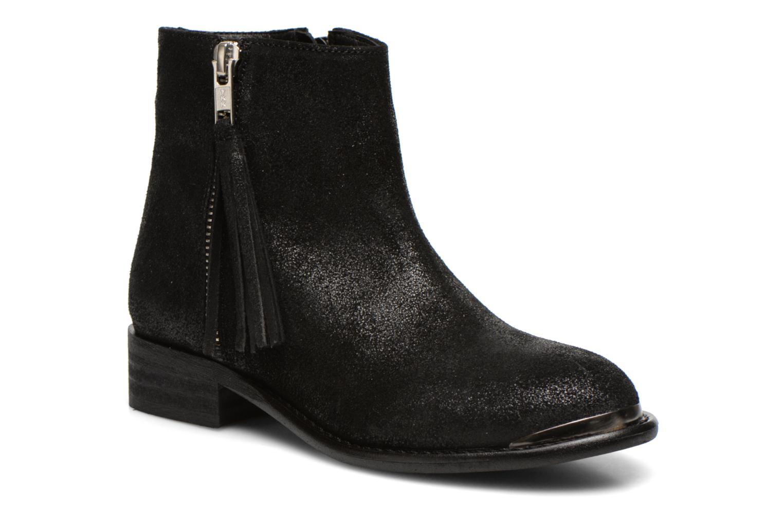 Boots en enkellaarsjes Yep Amelia Zwart detail