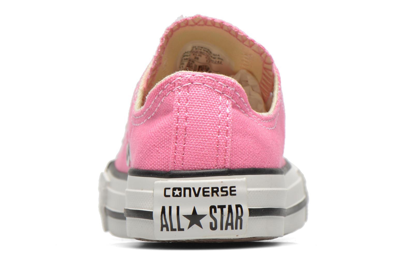Sneaker Converse Chuck Taylor All Star Core Ox rosa ansicht von rechts