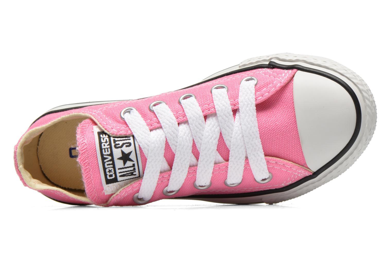 Sneaker Converse Chuck Taylor All Star Core Ox rosa ansicht von links