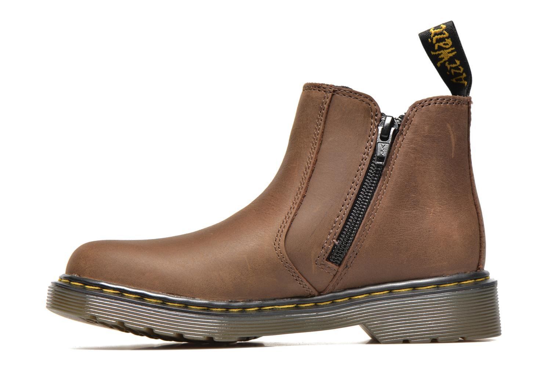 Boots en enkellaarsjes DR. Martens Junior Banzai Chelsea Boot Bruin voorkant