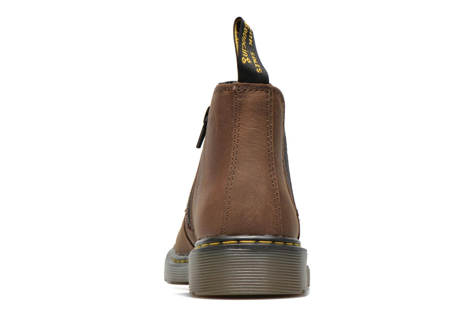 Ankle boots DR. Martens 2976 J Brown view from the right
