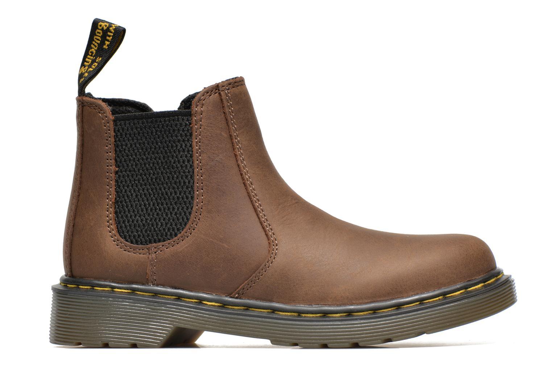Stiefeletten & Boots Dr. Martens 2976 J braun ansicht von hinten