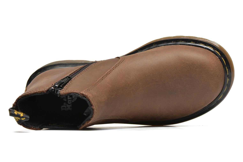 Boots en enkellaarsjes DR. Martens Junior Banzai Chelsea Boot Bruin links