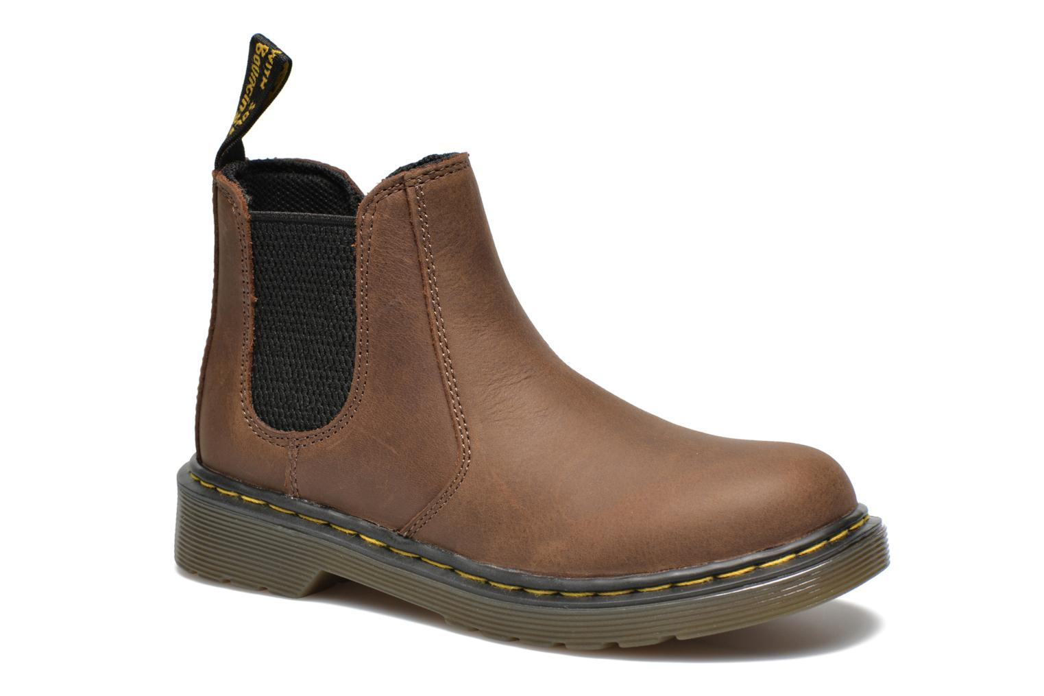 Ankle boots DR. Martens 2976 J Brown detailed view/ Pair view