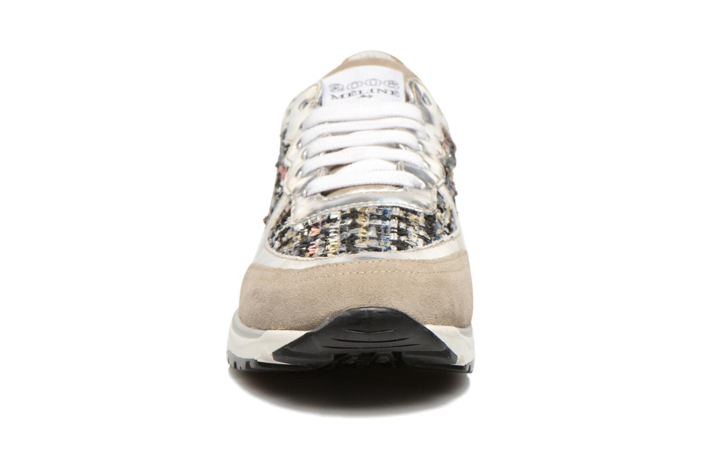 Baskets Méliné Daliel Gris vue portées chaussures