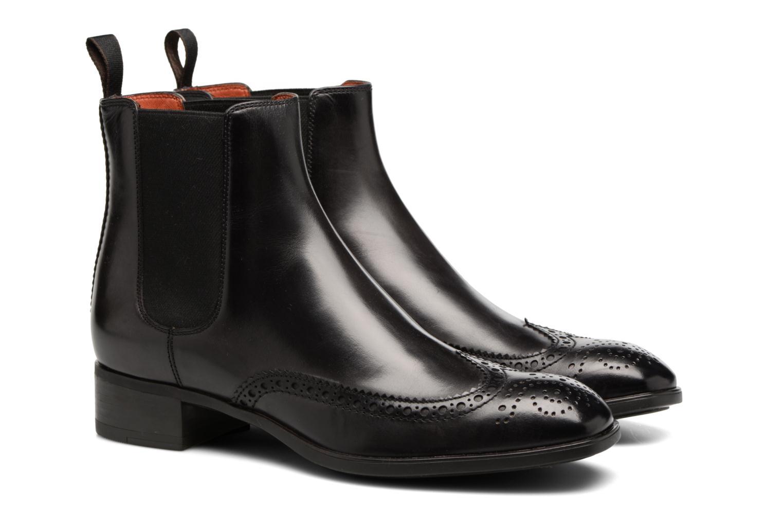 Bottines et boots Santoni Elodie 55133 Noir vue 3/4