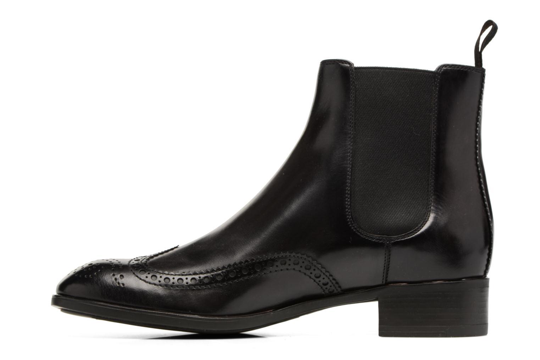 Bottines et boots Santoni Elodie 55133 Noir vue face