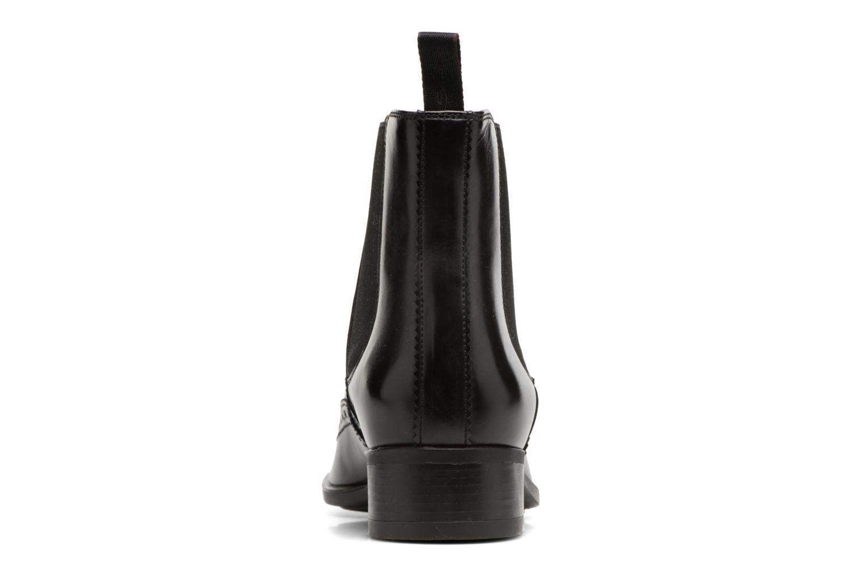 Bottines et boots Santoni Elodie 55133 Noir vue droite
