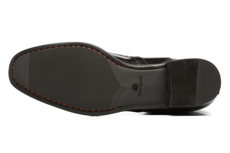 Bottines et boots Santoni Elodie 55133 Noir vue haut