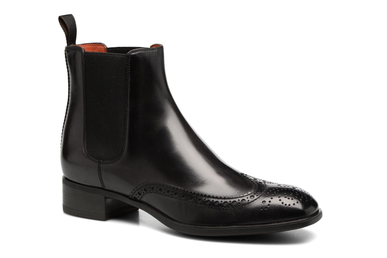 Bottines et boots Santoni Elodie 55133 Noir vue détail/paire