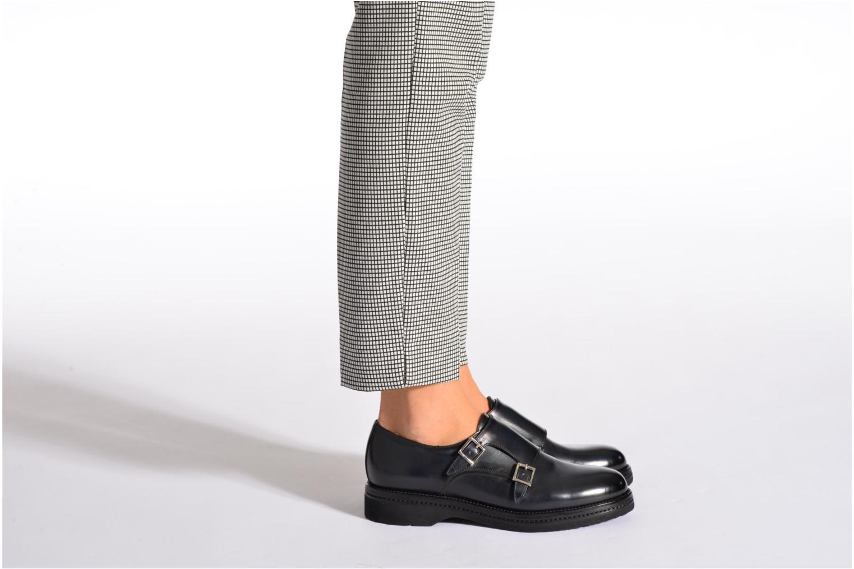 Chaussures à lacets Santoni Urban Hill 54271 Bleu vue bas / vue portée sac