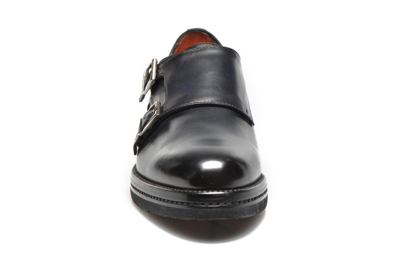 Chaussures à lacets Santoni Urban Hill 54271 Bleu vue portées chaussures