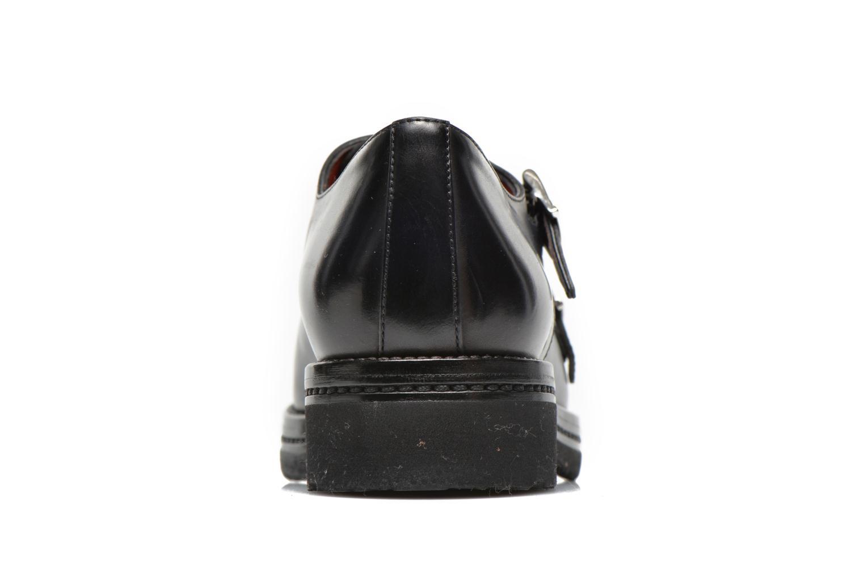 Chaussures à lacets Santoni Urban Hill 54271 Bleu vue droite