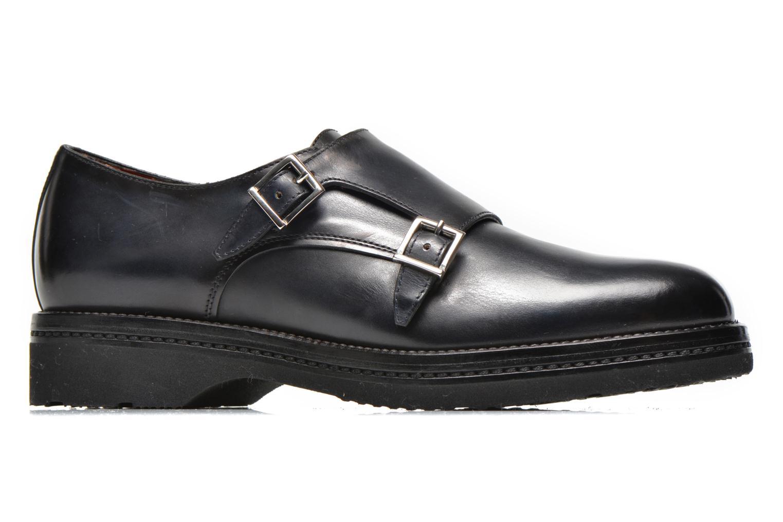 Chaussures à lacets Santoni Urban Hill 54271 Bleu vue derrière