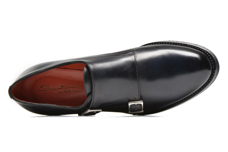 Chaussures à lacets Santoni Urban Hill 54271 Bleu vue gauche