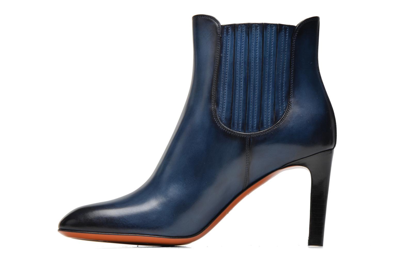 Ankle boots Santoni Moss 54079 Blue front view