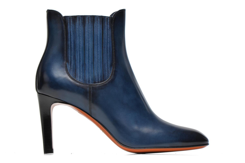 Bottines et boots Santoni Moss 54079 Bleu vue derrière