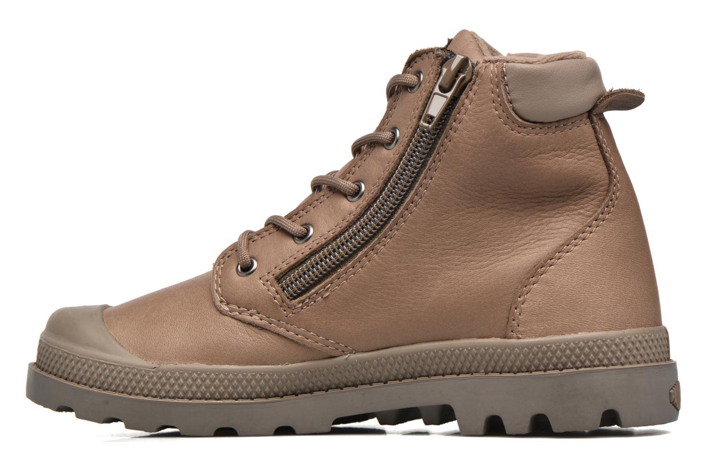 Stiefeletten & Boots Palladium Hi Cuff Wp K braun ansicht von vorne