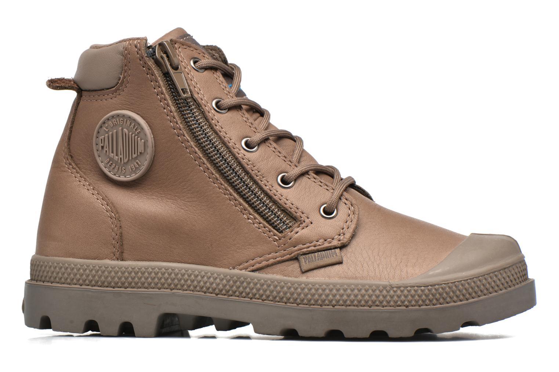 Stiefeletten & Boots Palladium Hi Cuff Wp K braun ansicht von hinten