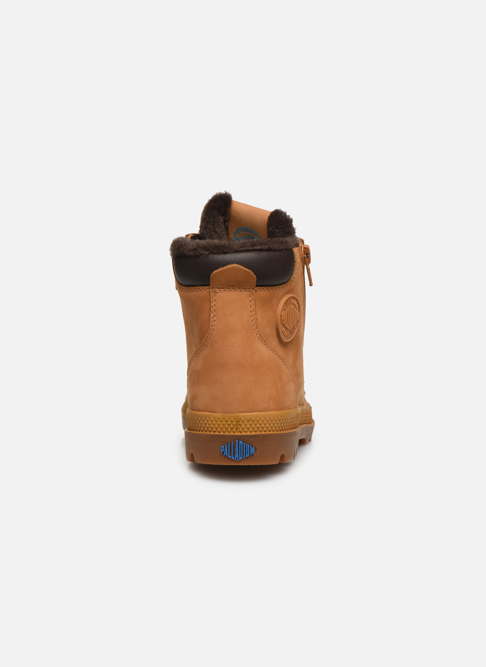 Boots en enkellaarsjes Palladium Hi Cuff Wps K Beige rechts