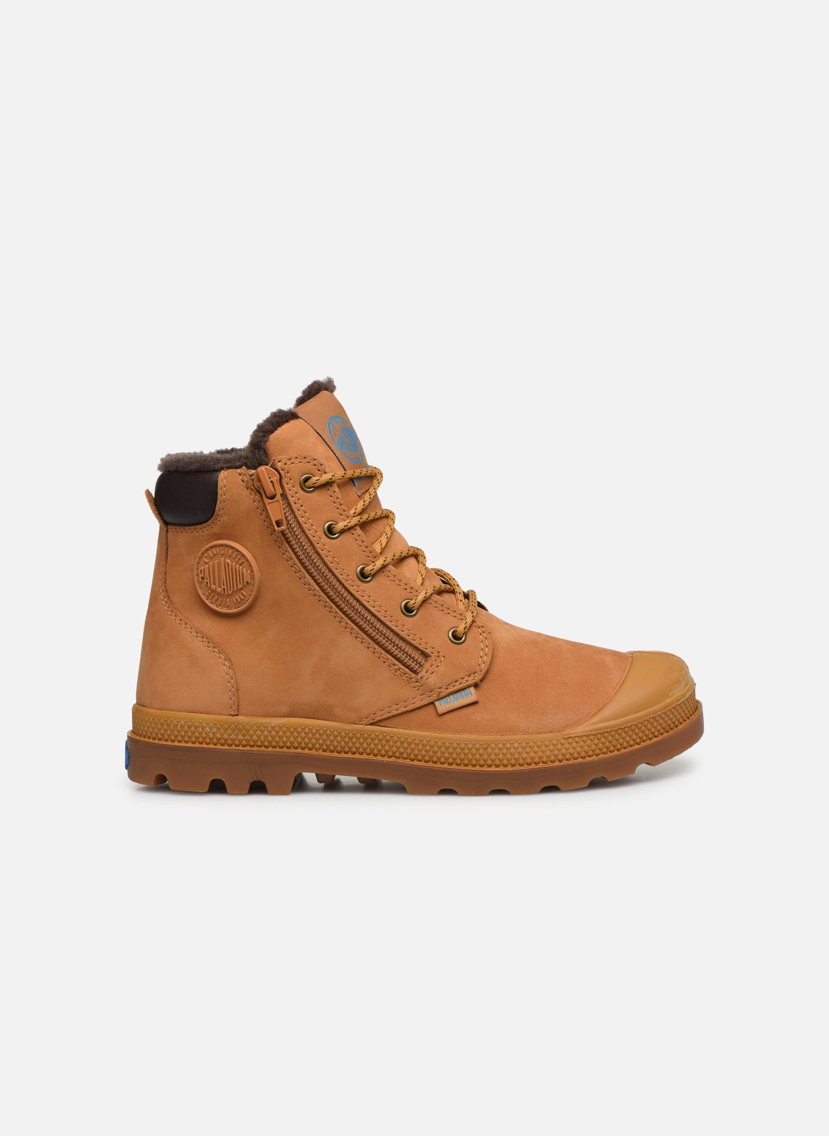 Boots en enkellaarsjes Palladium Hi Cuff Wps K Beige achterkant