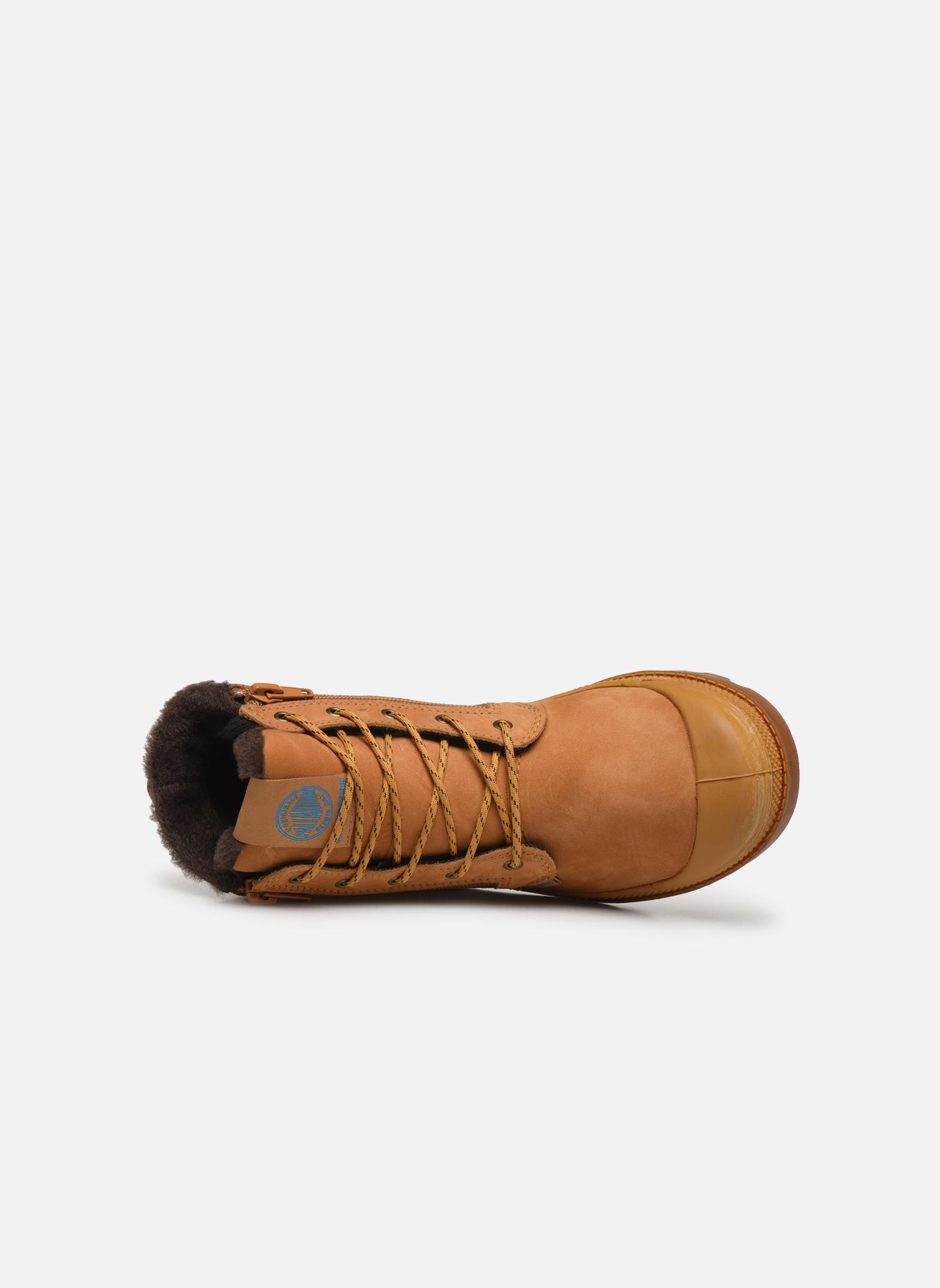 Stiefeletten & Boots Palladium Hi Cuff Wps K beige ansicht von links
