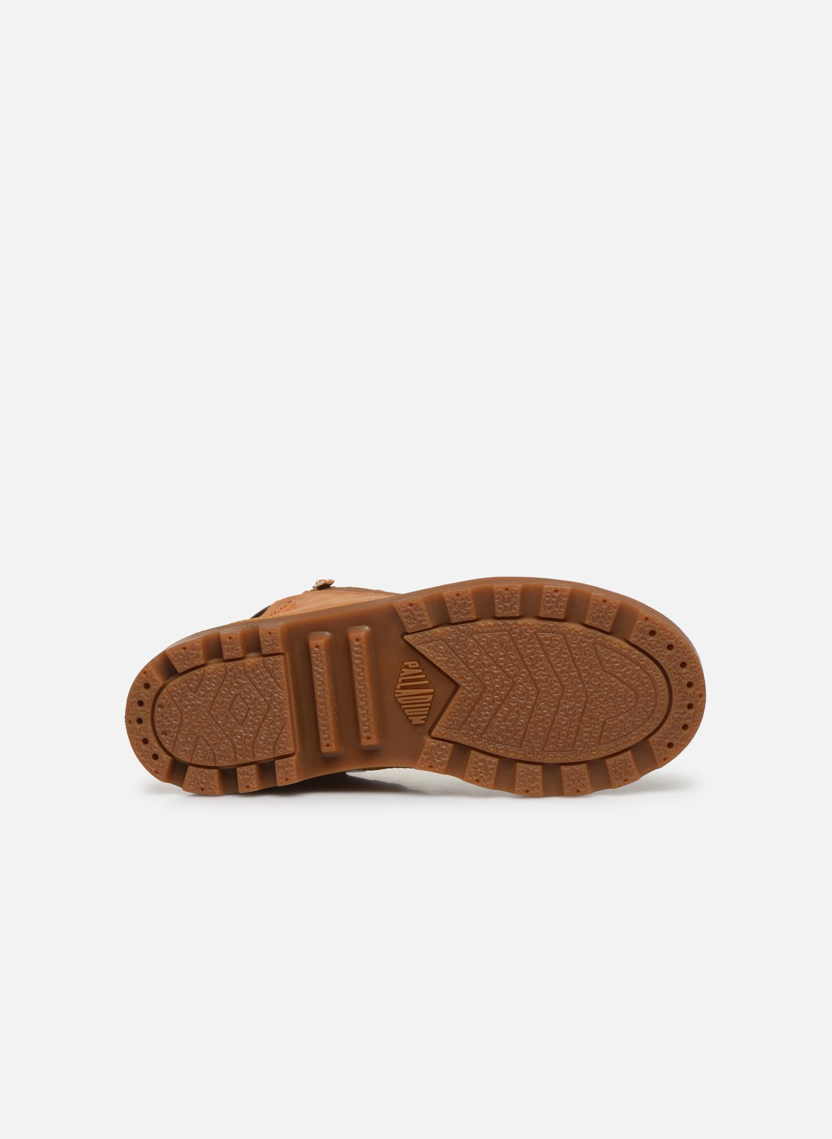 Boots en enkellaarsjes Palladium Hi Cuff Wps K Beige boven