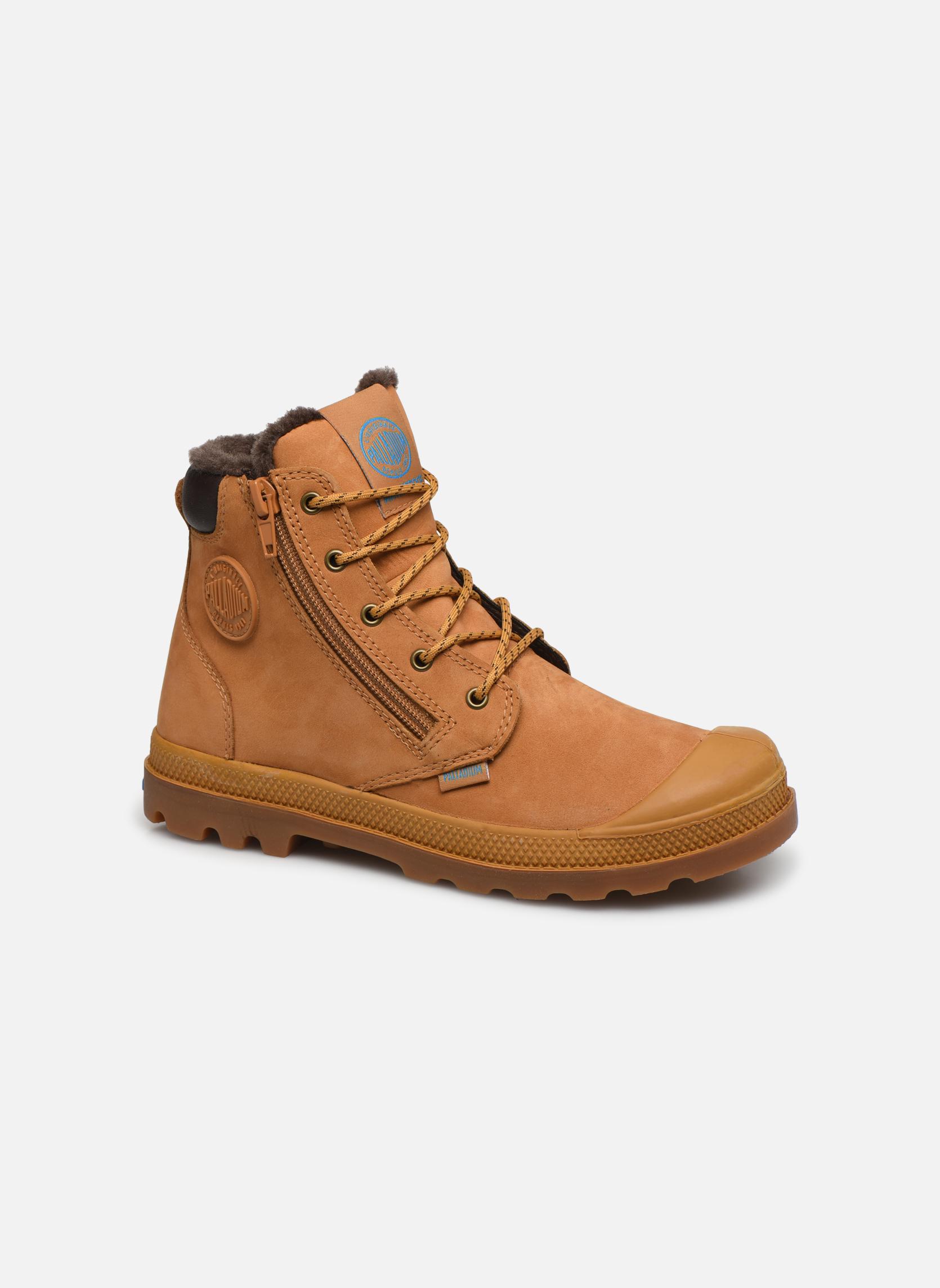 Boots en enkellaarsjes Palladium Hi Cuff Wps K Beige detail