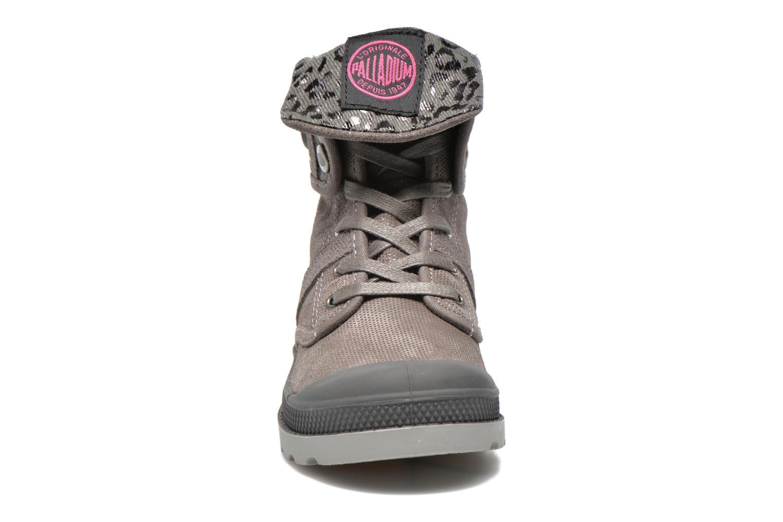 Bottines et boots Palladium Baggy Fl K Gris vue portées chaussures