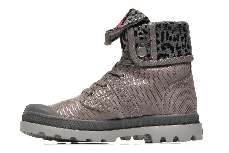 Stiefeletten & Boots Palladium Baggy Fl K grau ansicht von vorne