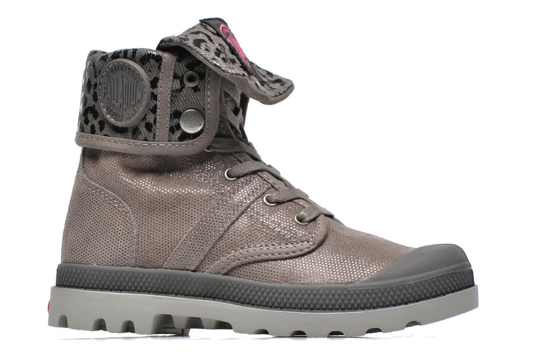 Boots en enkellaarsjes Palladium Baggy Fl K Grijs achterkant