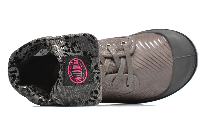 Boots en enkellaarsjes Palladium Baggy Fl K Grijs links