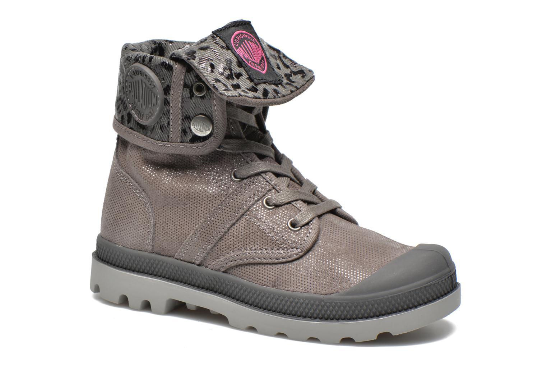 Bottines et boots Palladium Baggy Fl K Gris vue détail/paire