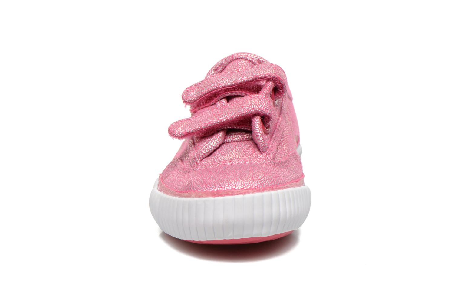 Trainers Feiyue Fe Lo Glitter Easy Pink model view