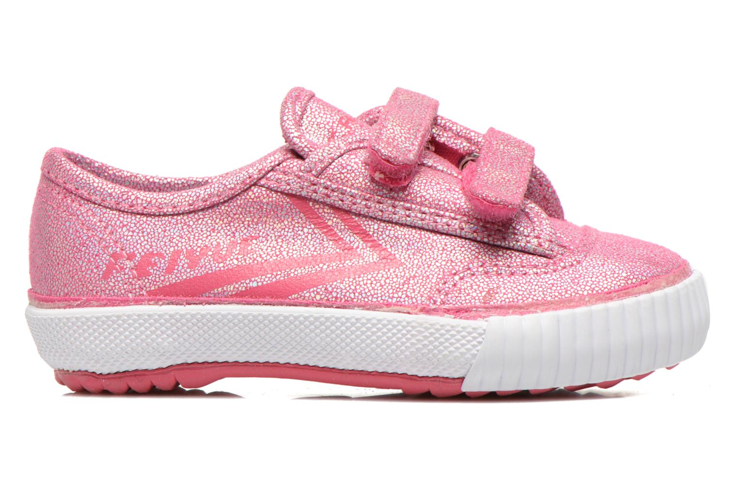 Trainers Feiyue Fe Lo Glitter Easy Pink back view